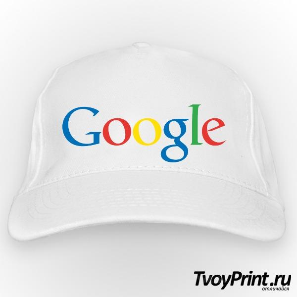 Бейсболка Google (лого)