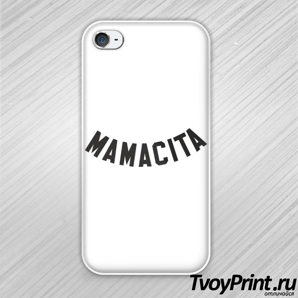 Чехол iPhone 4S mamacita