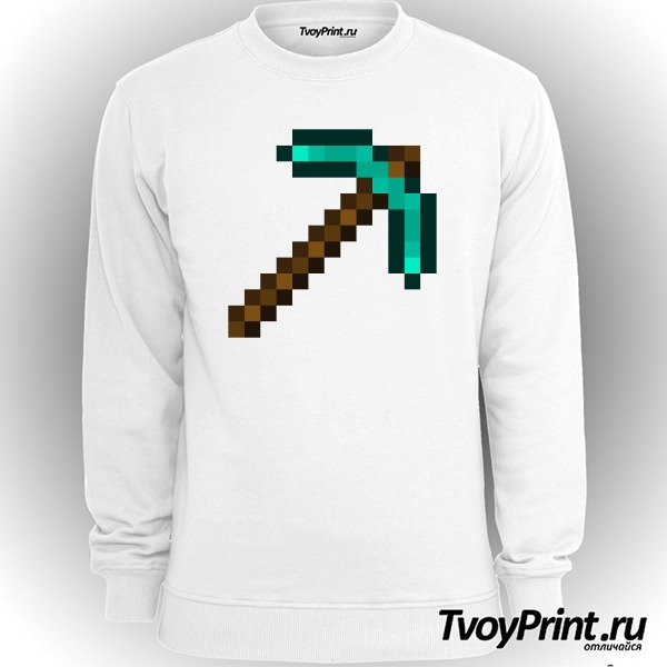 Свитшот Minecraft Кирка