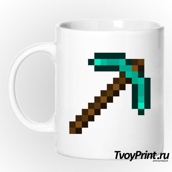 Кружка Minecraft Кирка