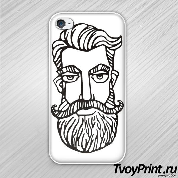 Чехол iPhone 4S Бородатый гражданин