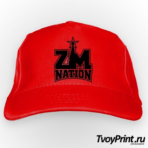Бейсболка ZM nation