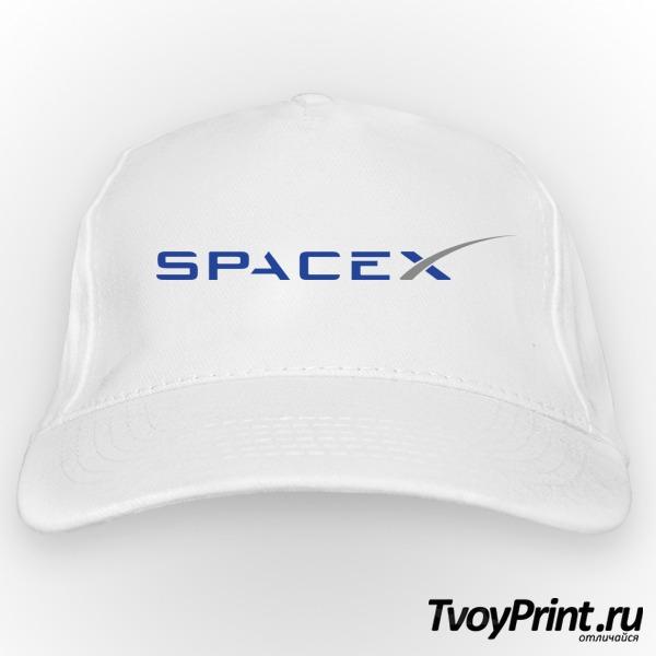 Бейсболка spacex