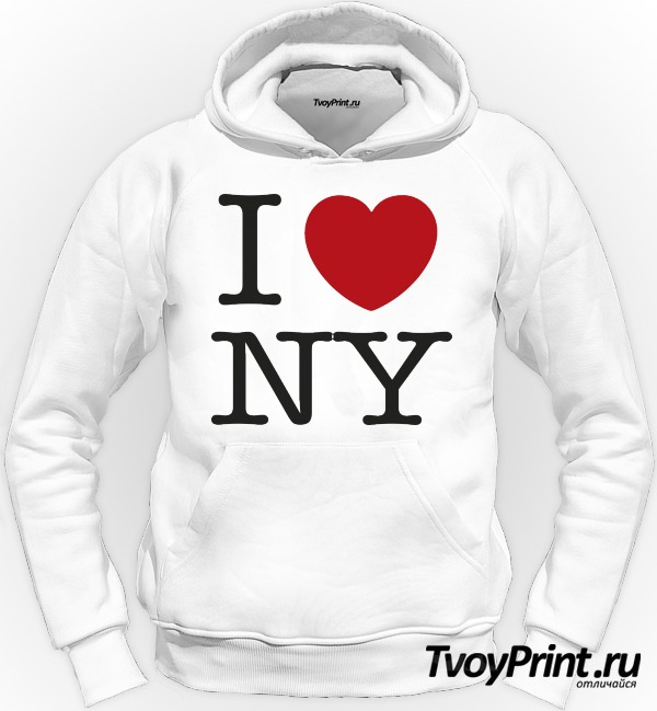 Толстовка I love New York