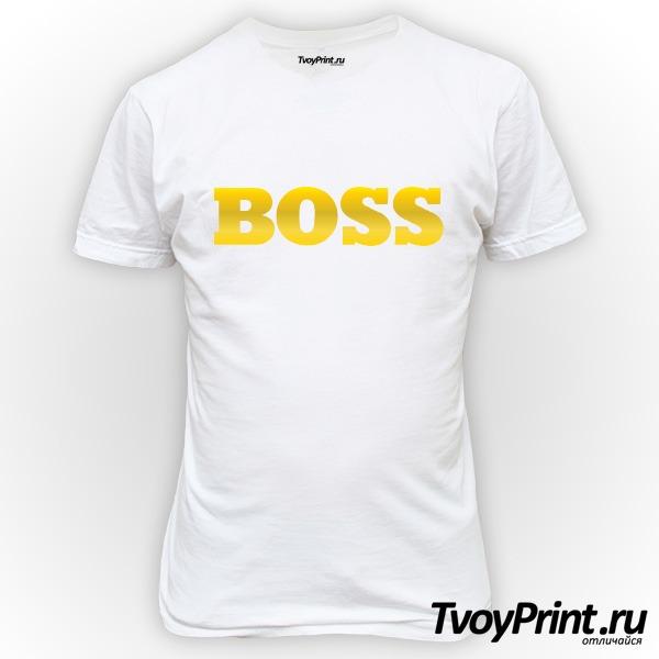 Футболка Босс (BOSS)