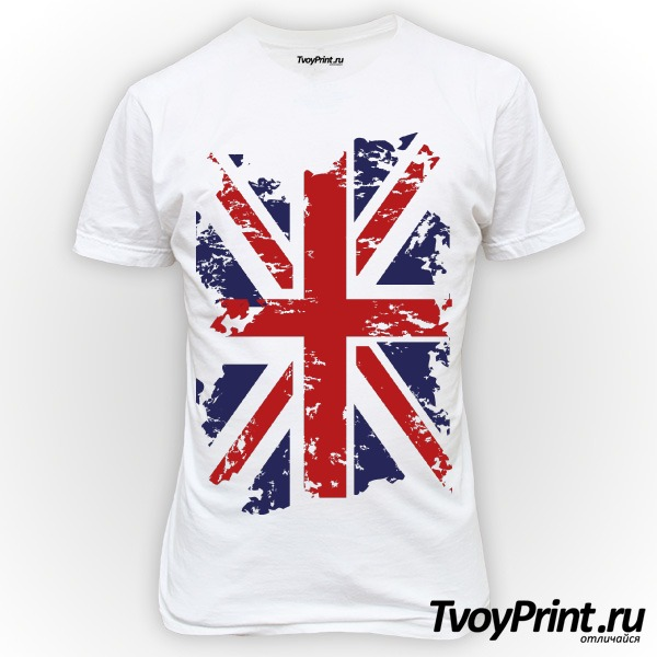 Футболка Флаг Великобритании