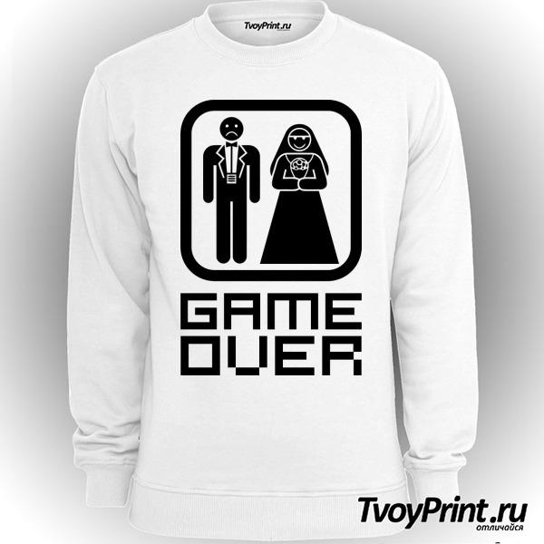 Свитшот Game over