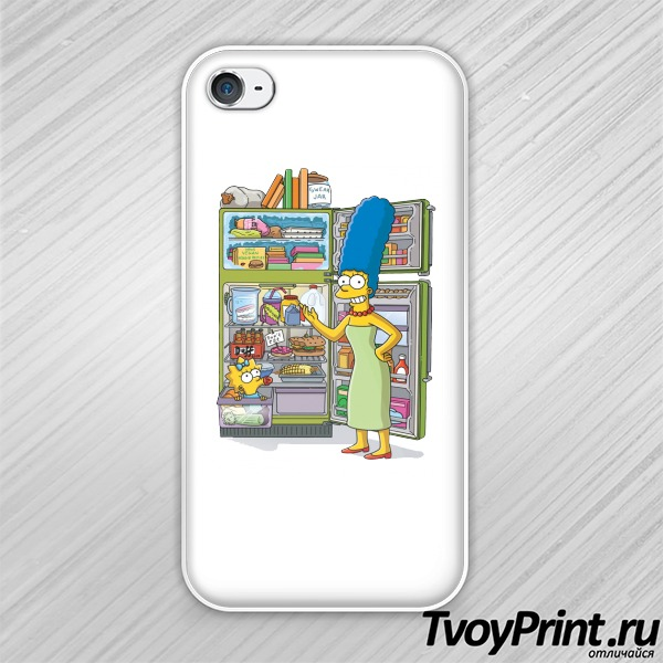 Чехол iPhone 4S Мардж Симпсон