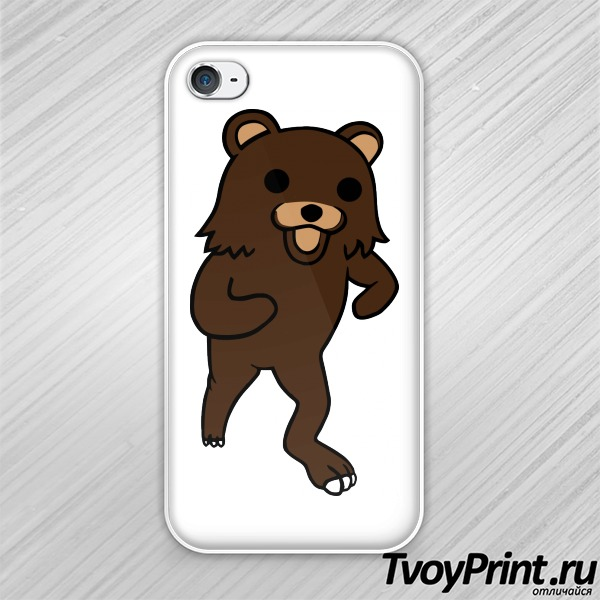 Чехол iPhone 4S Pedobear