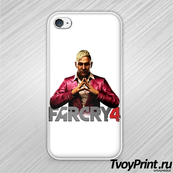 Чехол iPhone 4S Far Cry 4 Босс
