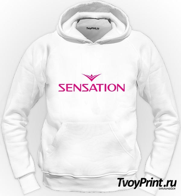 Толстовка Sensation розовый