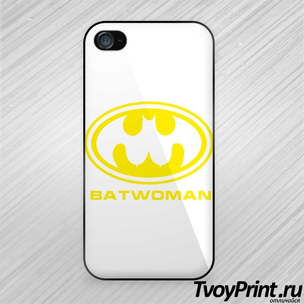 Чехол iPhone 4S BatWoman