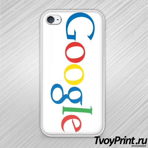 Чехол iPhone 4S Google (лого)