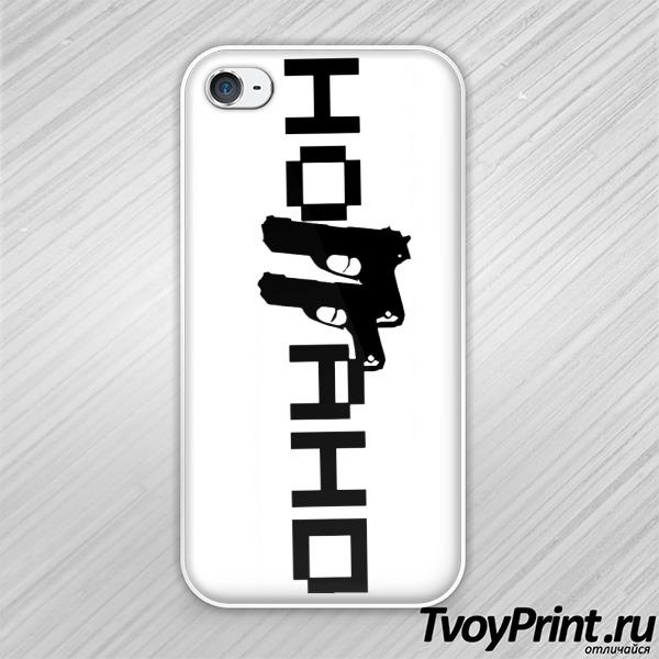 Чехол iPhone 4S Ноггано 1