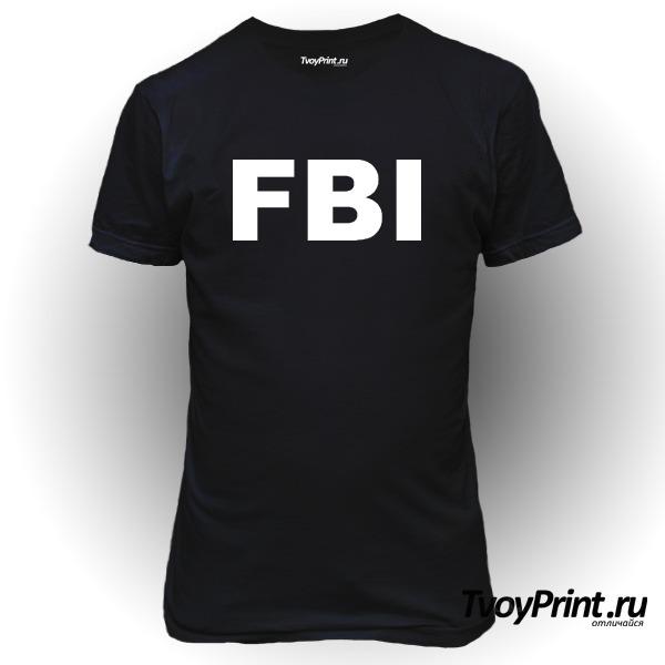 Футболка FBI