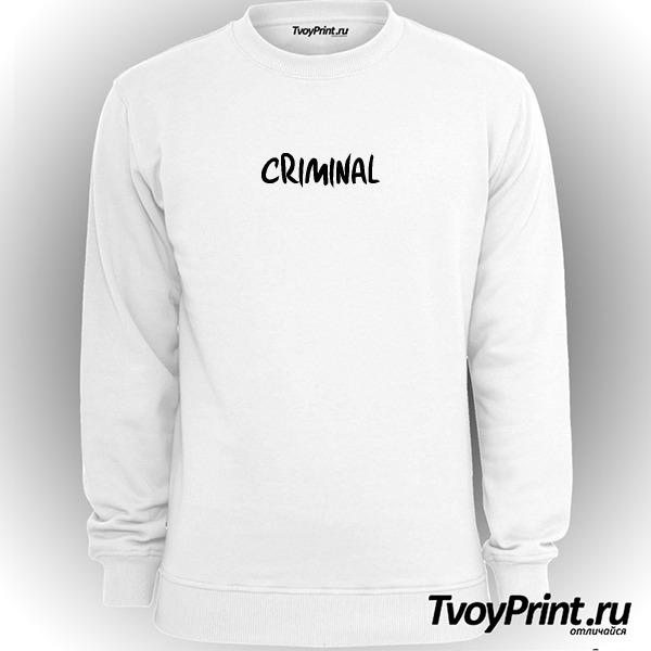 Свитшот CRIMINAL