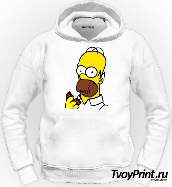 Толстовка Гомер с пончиком