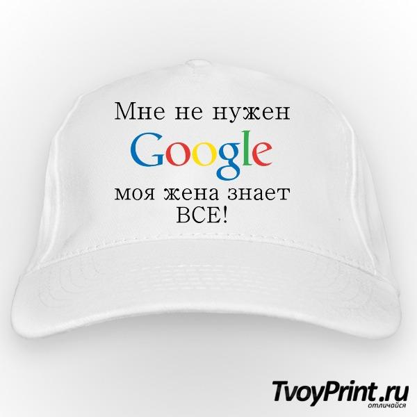 Бейсболка Google