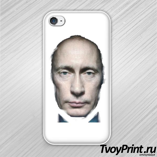Чехол iPhone 4S с Путиным