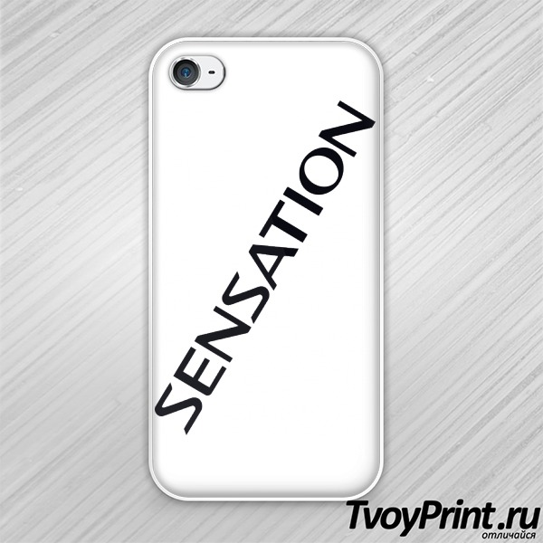 Чехол iPhone 4S sensation white 2014