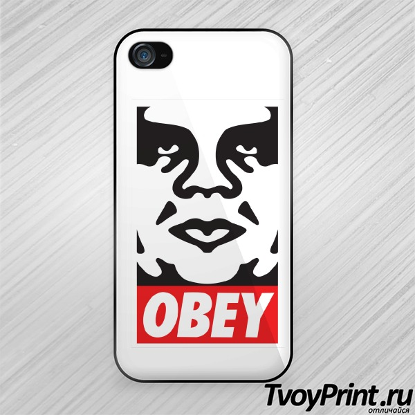 Чехол iPhone 4S Obey