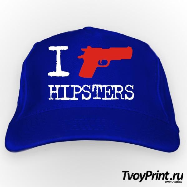 Бейсболка I Shoot Hipsters