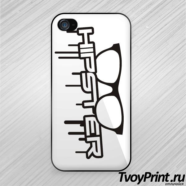 Чехол iPhone 4S Хипстер Очки