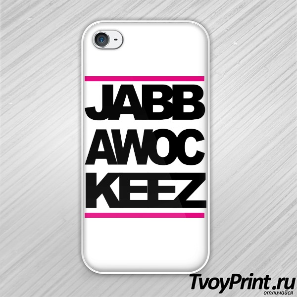 Чехол iPhone 4S JabbaWockeeZ