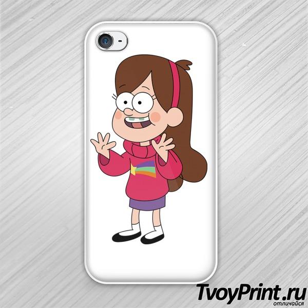 Чехол iPhone 4S Мэйбл Пайнс Графити Фолз