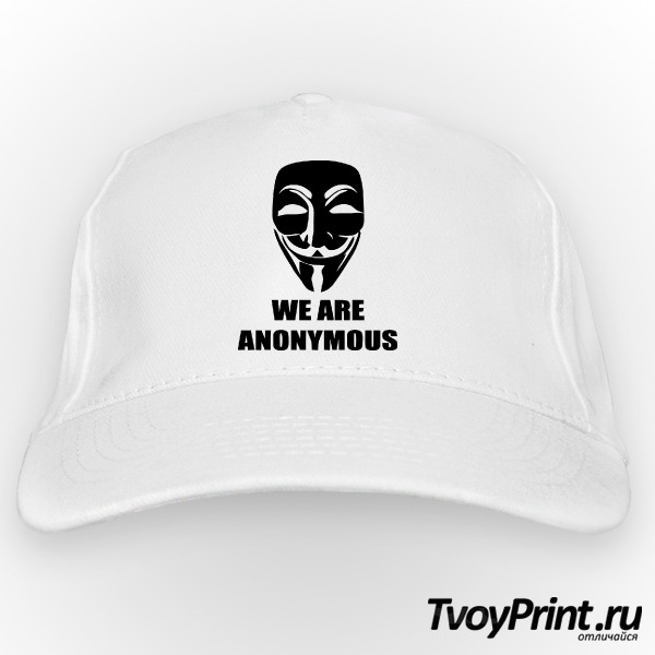 Бейсболка We are anonymous