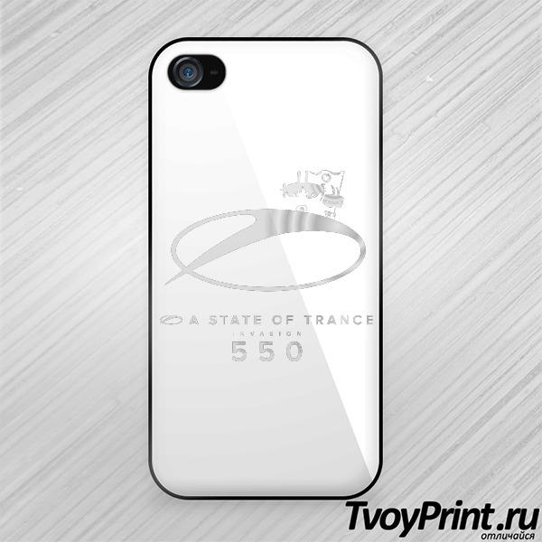 Чехол iPhone 4S Asot 550 серебро