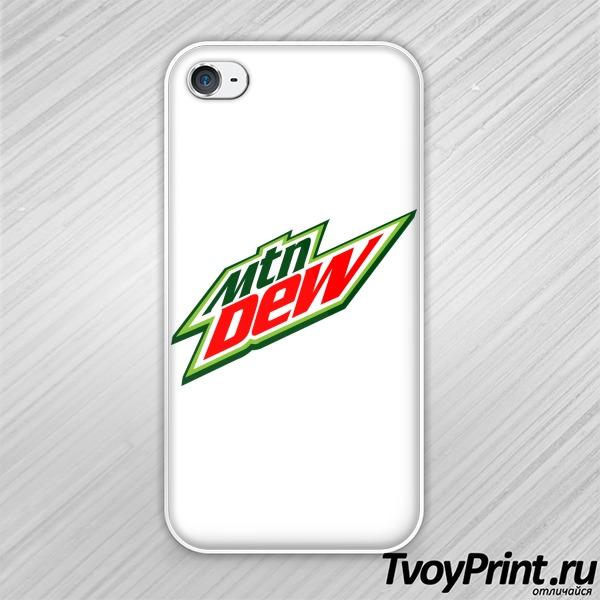 Чехол iPhone 4S Mountain Dew