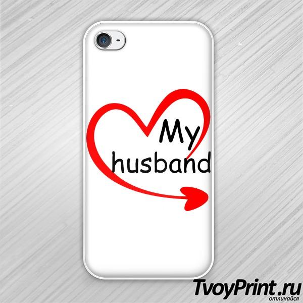 Чехол iPhone 4S мой муж