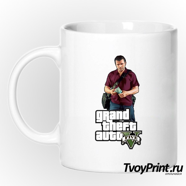 Кружка GTA 5: Michael