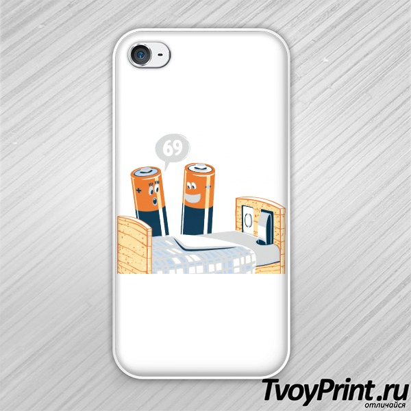 Чехол iPhone 4S 69 Glennz Tees Designs