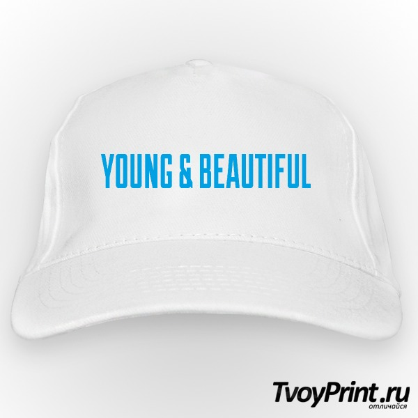 Бейсболка YOUNG & BEAUTIFUL