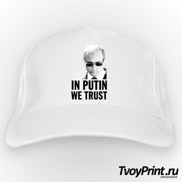 Бейсболка Мы верим в Путина
