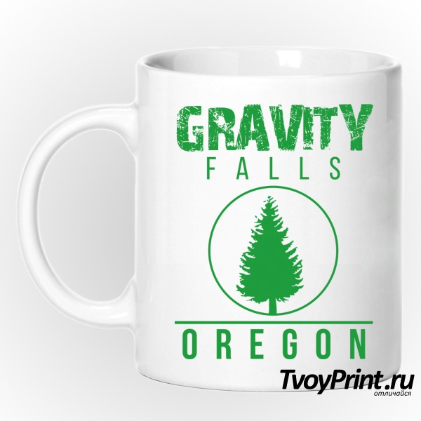 Кружка GRAVITY FALLS OREGON