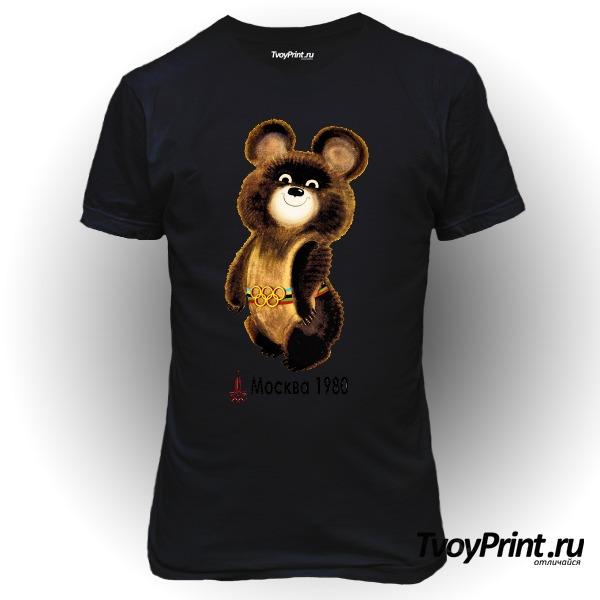 Футболка Олимпийский мишка