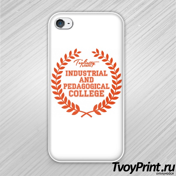 Чехол iPhone 4S колледжей: ТиПК
