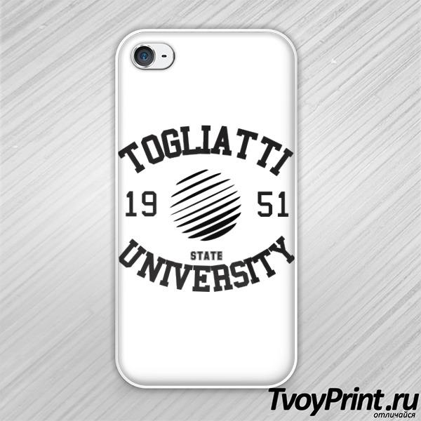 Чехол iPhone 4S вуза Тольятти: ТГУ