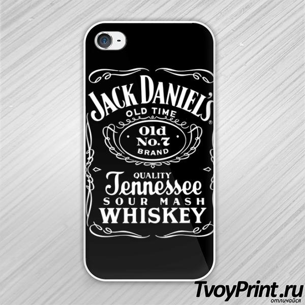 Чехол iPhone 4S Jack Daniels