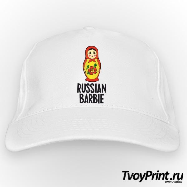 Бейсболка Russian barbi