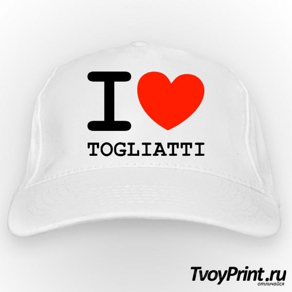 Бейсболка Я люблю Тольятти