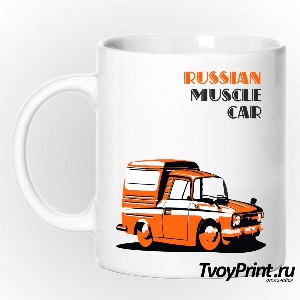 Кружка Русский мускул кар (Muscle Cars)