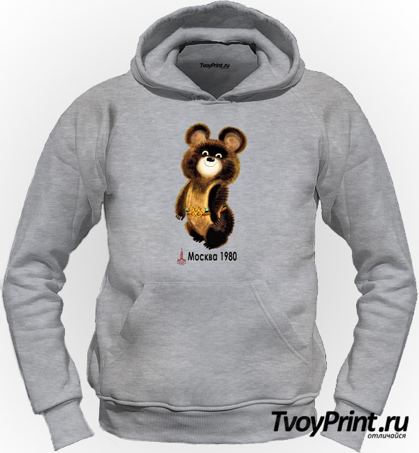 Толстовка Олимпийский мишка