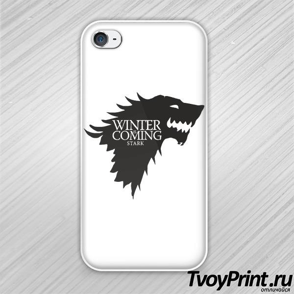 Чехол iPhone 4S Игра престолов