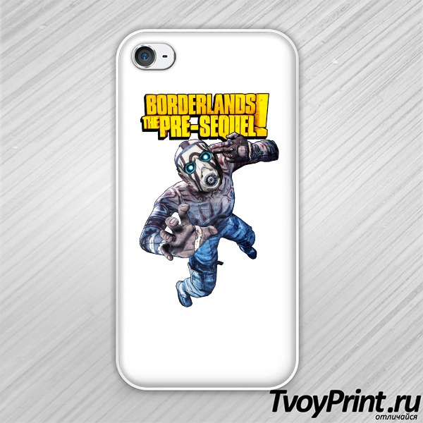 Чехол iPhone 4S Borderlands Псих