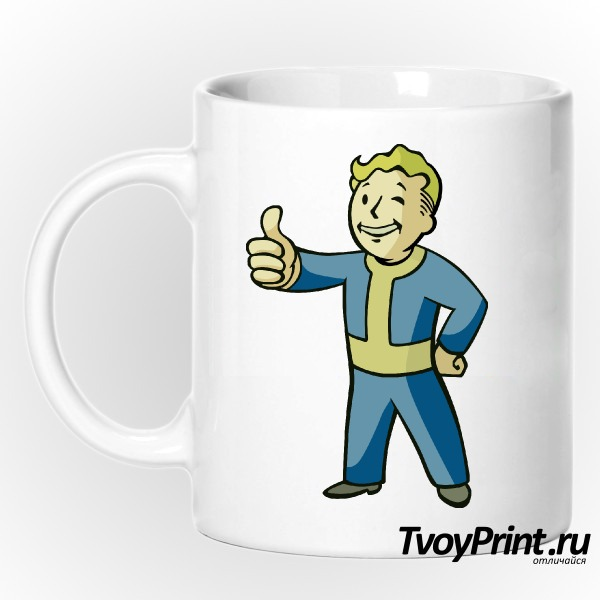Кружка Fallout PipBoy