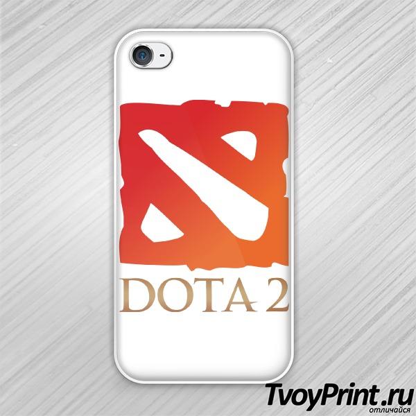 Чехол iPhone 4S Dota 2